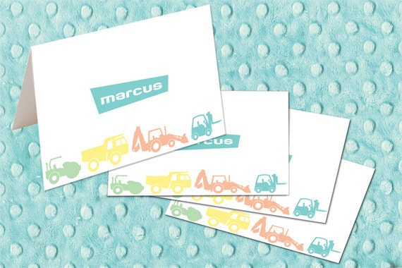 personalized notecards, personalized thank you cards, baby shower thank you cards, new baby thank you cards, personalized stationery