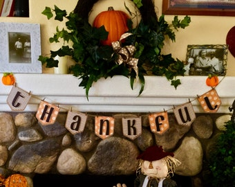 Thanksgiving Banner, Party, Photo Shoot Prop