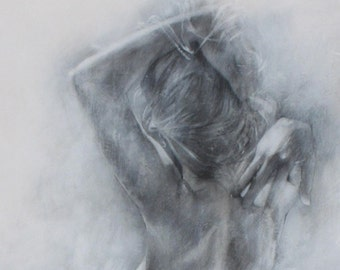 Classic Art of the Figure - Charcoal Drawing Open Edition Print