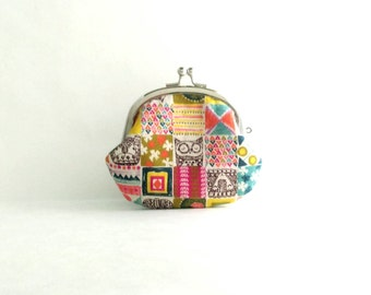 Animal Square Coin Purse - Change Purse - Mini Pouch - Womens Purse - Coin Pouch - Jewelry Purse - Gift for Her