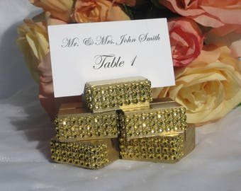 Place Card Holder + Gold Place Card Holders (Set of 100)