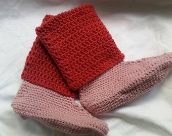 Slipper boots, slippers, crochet slippers, crochet slipper boots, womens slippers, house slippers, womens slipper boots, crochet boots