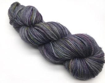 Nyasa Aran 'Canopy Shadows' Hand Dyed Yarn - PARTIAL