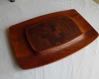 Mid Century Modern DANSK IHQ Jens Quistgaard Large Teak Cutting Board