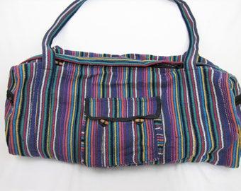 Yoga bag Sports Bag Gym Bag Boho Style Travel bag