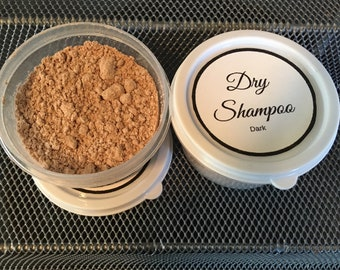 All Natural Dry Shampoo- light or dark! Adds volume