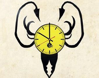 Game of Thrones House Greyjoy Vinyl Record Wall Clock