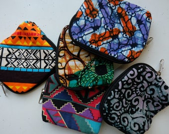 Small Cards and Cash Zipper Pouch