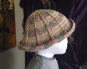 Ivory Corded Cloche