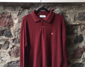 Vintage 60s 70s Christian Dior Monsieur Sweater