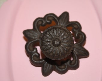 PICK YOUR COLOR  Metal Knobs / Drawer Pulls / Rusty Look / Antique Look