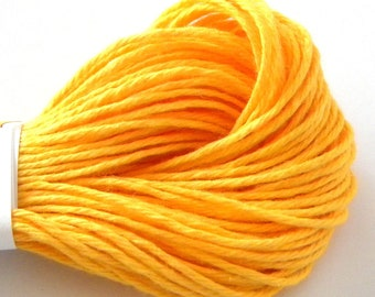Yellow Baker's Divine Twine, Solid, 25 yards or 75 feet