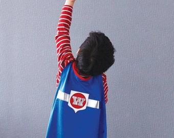 """Superhero cape... """"Superstar"""" Cape (royal blue)"""