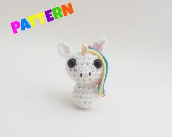 Amigurumi Unicorn Pattern, Crochet Amigurumi Pattern, Amigurumi Patterns, Crochet Doll Pattern, Crochet Animal Pattern, Crochet Pattern