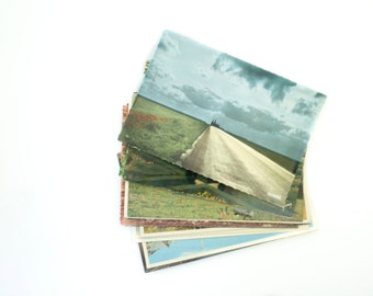 PostCard Lot, Grab Bag of Postcards, Old Postcards, French Ephemera, Paris Postcards, Vintage Postcard, French Postcard, Vintage Ephemera,