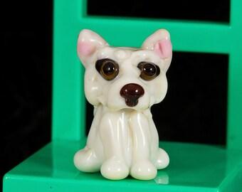 Akita Lampwork Dog Bead