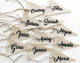 Custom Name Tags, Personalized Name Tag, Bridesmaid Gift Tag, Party Name Tag