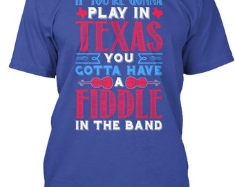 38 Fiddle In The Band Alabama Country  Hanes Tagless Tee Tshirt