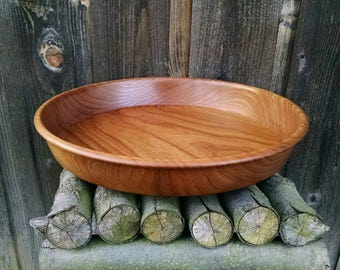 Wood Bowl - Reclaimed Wood Wooden Bowl - Rustic Home Decor - Hand Turned Wood Bowl - Sunset Turnings