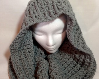 Hooded Cowl Shawl