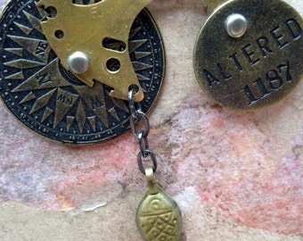 Altered Mixed Metals Necklace