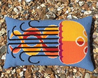 Rebecca the Jellyfish cross stitch kit