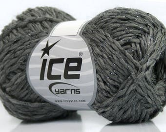 Gray Wool Knitting Yarn  Knit Crochet Yarn  Grey Lot 48850