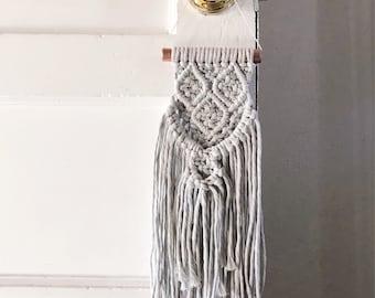 Small Handmade Fringy Boho Wallhanging//OOAK//Ready To Ship
