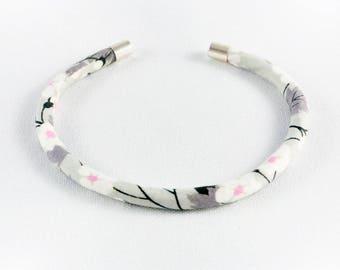 Taupe gray Liberty Mitsi Bangle Bracelet