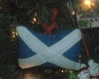 Scotland flag ornament/accessory!