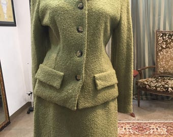 Women's Green Suit Size 6
