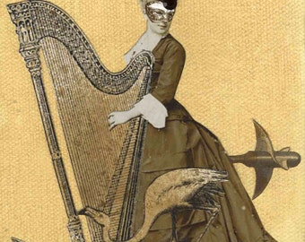 Hannah and her Harp
