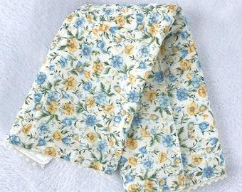 Floral baby burp cloth baby girl shower gift set infant gift new mom gift set gift for mom new baby gift pregnancy gift baby shower gift