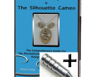 SALE 20.00 Off ~ Bundle : Metal Clay + The Silhouette Cameo - Videos on DVD Tutorials + The Etching Tool ~ Metal [VID1+ET]