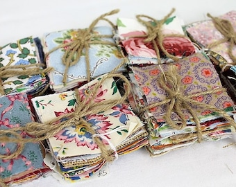 Fabric Charm Packs/ Squares/Fabric Bundles/Vintage and Contemporary Fabric/ Craft Supplies & Tools/ Fabric and Notions/Sewing/ Patchwork