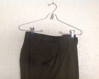 60's Rip stop OG 107 trousers.  Size Regular Small