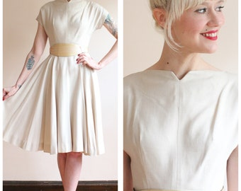 1950s Dress // Mark Robbins Dress // vintage 50s dress
