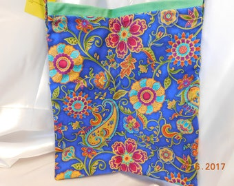 Large cross body tote or Messanger tote