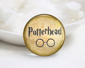 10mm 12mm 14mm 16mm 18mm 20mm 25mm 30mm Harry Potter Series-Handmade Round Photo glass Cabochons (P2806)