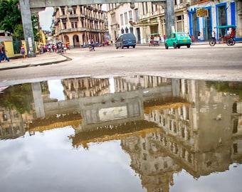 Cuba Photography - Havana Cuba Chinatown - Cuba Street Scene - Cuba Art Print - Cuba Cityscape - Cuba Fine Art Photograph Wall Print