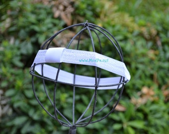 Interchangable Elastic Headband. Many colors to choose from. Headband for clips and bows