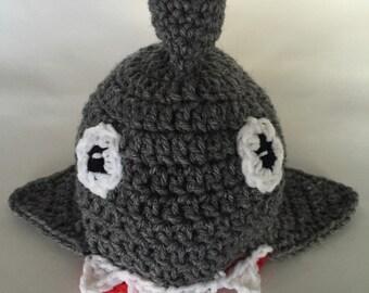 Crochet Shark Beanie,  Shark Hat, Crochet Shark Hat, Beanie, Fun Winter Accessory