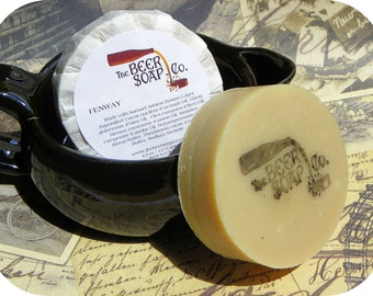 Fenway Beer Body and Beard Soap- Made with Sam Adams Boston Lager