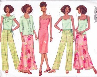 "Womens Sewing Pattern Jacket Dress Top Skirt & Pants Butterick 3139 Size 12-16 Bust 34-38"""
