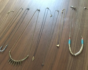 VTG Crop of Dainty & Delicate Necklaces