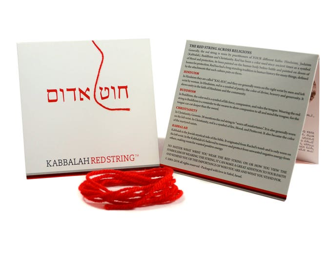 Original 60 Inch Kabbalah Red String from Israel - Ships from US