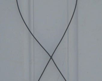 Cancer Wire Form, Awareness Ribbon