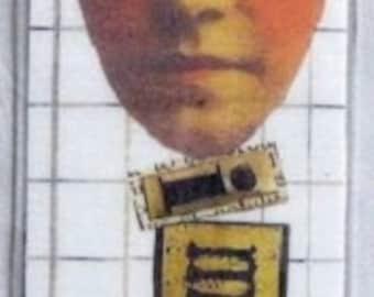 Bookmark.  Laminated.  Imagine.  Funky and fun.