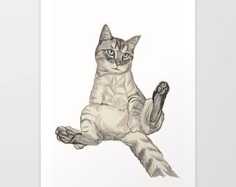 Custom Pet Portrait. Pets. Watercolour pencils. Handmade art. Portraits