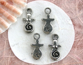 Goddess Charms, Lead Free Pewter Moon Goddesses, Made in USA Copyright © Protected Pewter Beads, KF Signature Series ~ K304AP